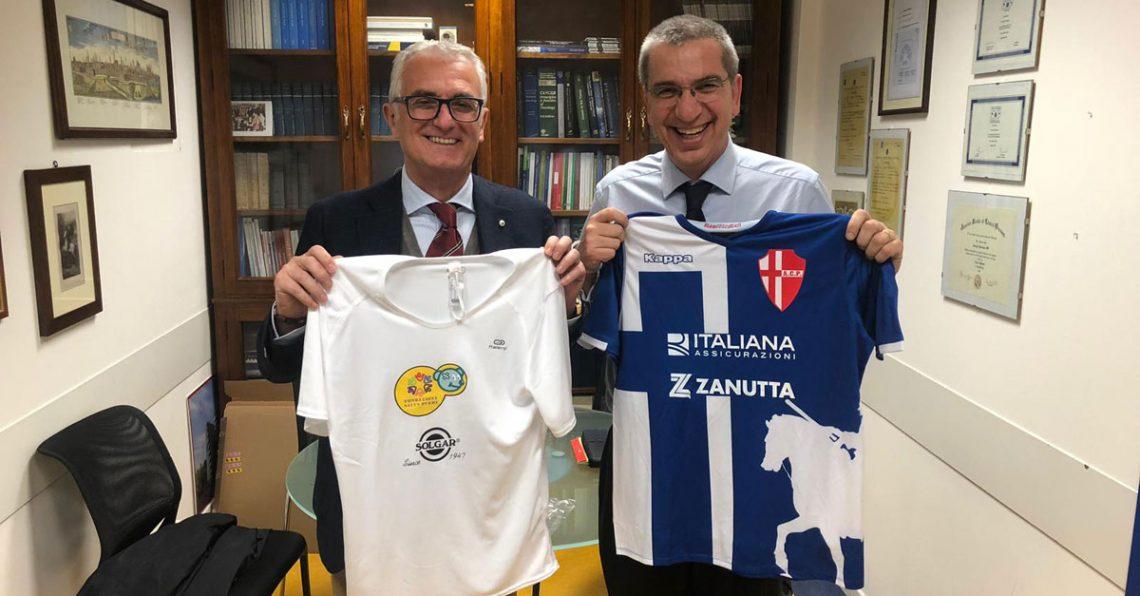 Il Calcio Padova scende in pista per i bambini della Pediatria