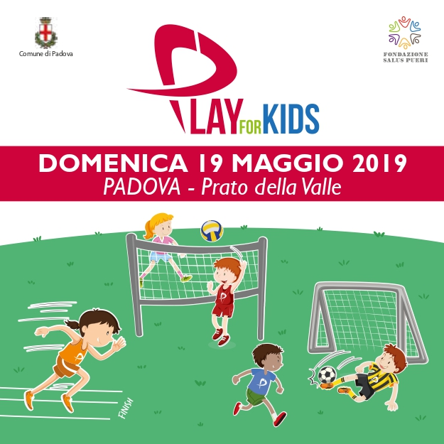 Ritorna Play for Kids, questa volta in Prato della Valle!