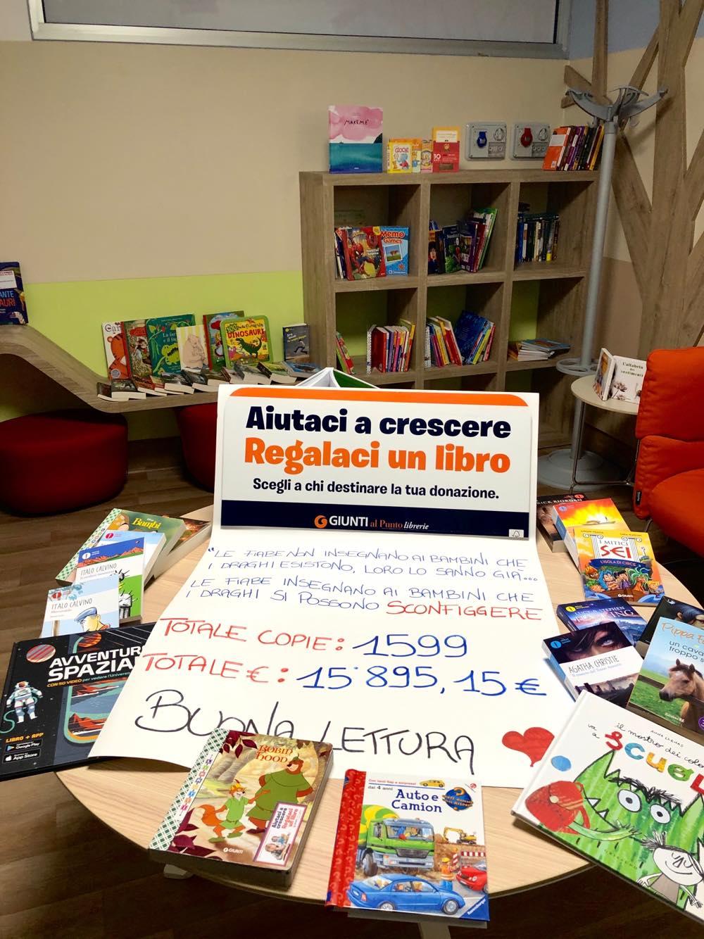 """Una """"montagna"""" di libri per la Pediatria"""