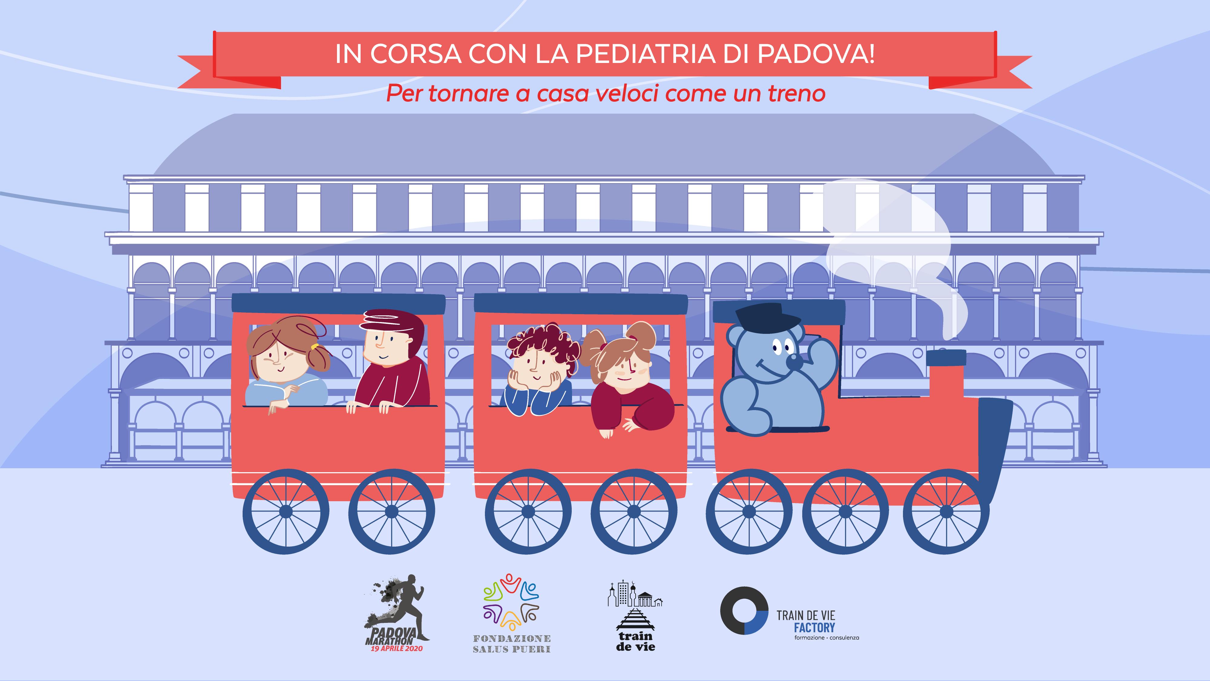 In corsa con la Pediatria di Padova!